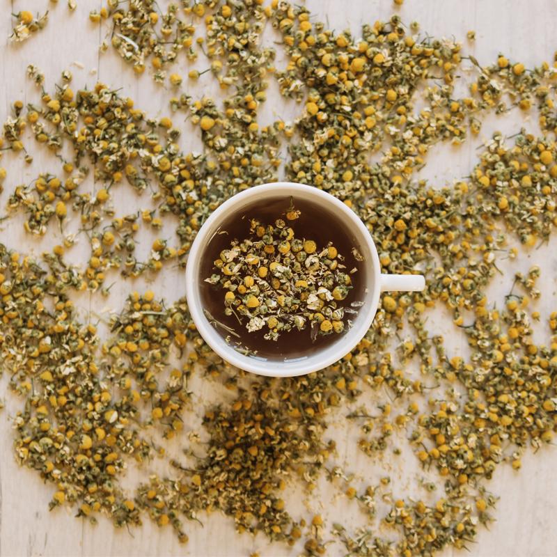 תה קמומיל, עלי בבונג
