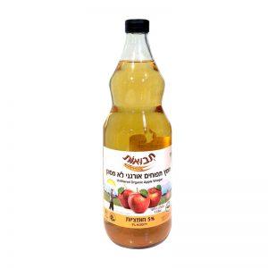חומץ תפוחים לא מסונן