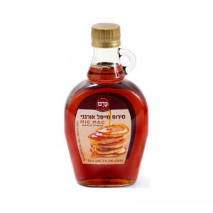 סירופ מייפל אורגני בבקבוק